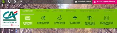Crédit Agricole Toulouse en ligne