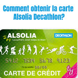 Carte crédit Alsolia Decathlon