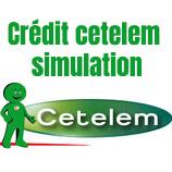 Simulateur en ligne Cetelem