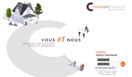 Espace client Credit Lift