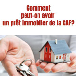 Pret immobilier CAF