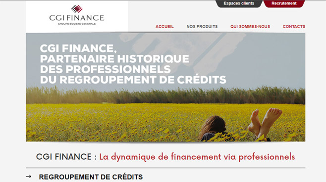 regroupement cgi finance