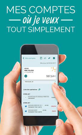 Ma banque application mobile