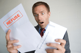 refus emprunt immobilier