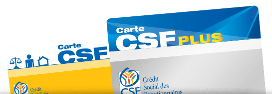 Ma carte CSF PLUS