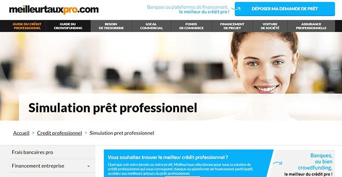 simulateur credit entreprises en ligne