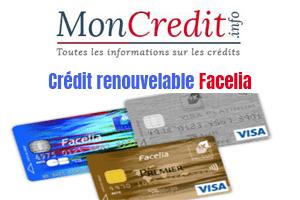 credit renouvelable facelia