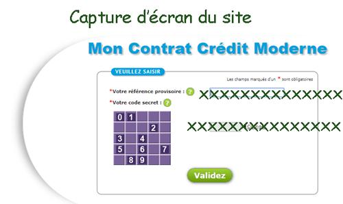 Connexion à l'espace contrat crédit moderne guadeloupe