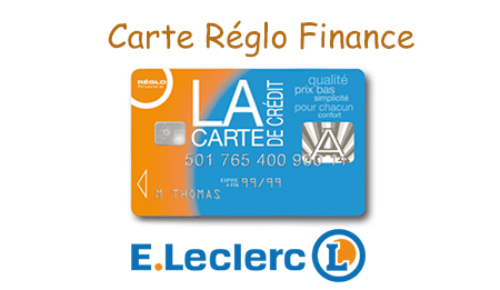 Carte Réglo Finance avis