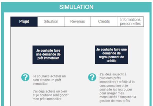 simulation crédit en ligne