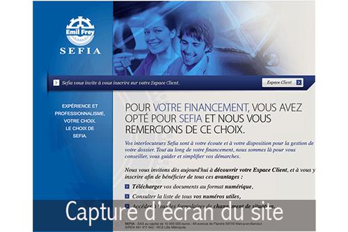Accéder à sefia.espace-clients.fr