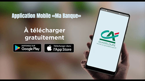 application mobile ca guadeloupe