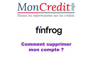 Résilier mon compte Finfrog
