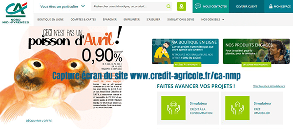 credit agricole nord midi pyrenees