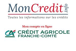 Crédit Agricole Franche Comté en ligne mes comptes